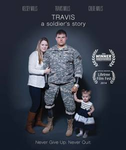 Travis: A Soldier's Story - DVD Cover