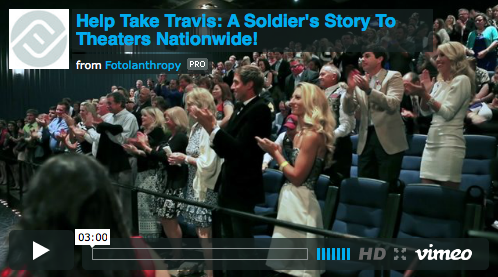 Help Take Travis: A Soldier's Story To Theaters Nationwide!