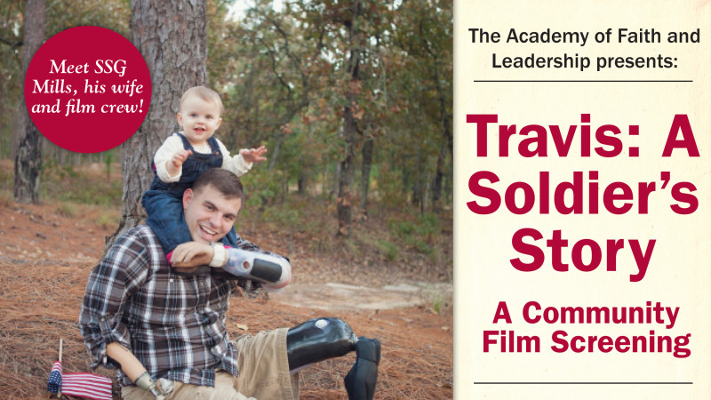 Travis: A Soldier's Story To Screen in Columbia, South Carolina 3.28.14!