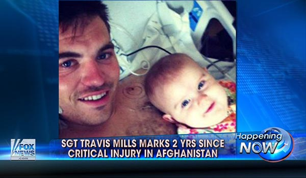 Sgt. Travis Mills defies odds after critical injury
