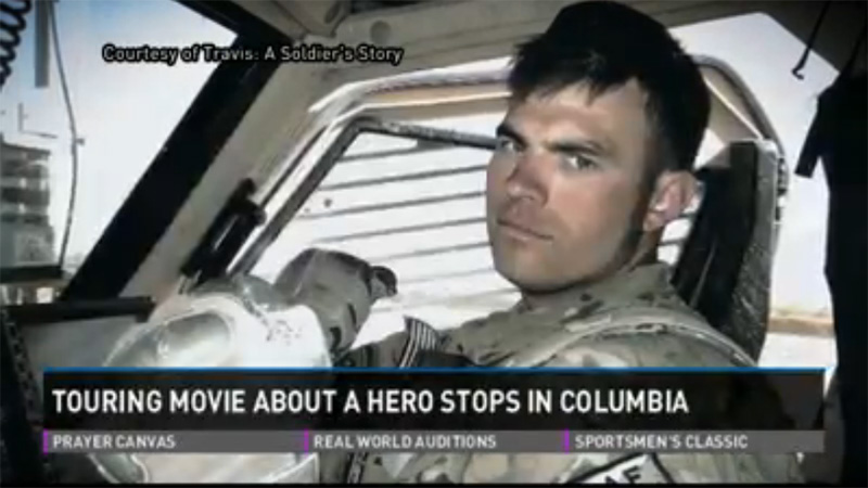 Touring Movie About a Hero Stops in Columbia