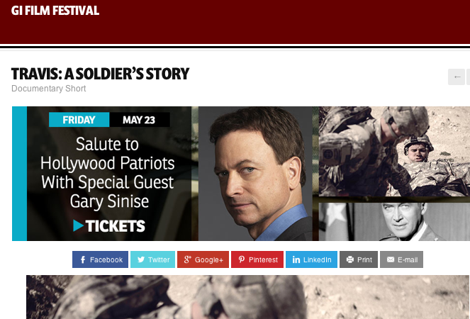 Film festival honors our nation's heroes