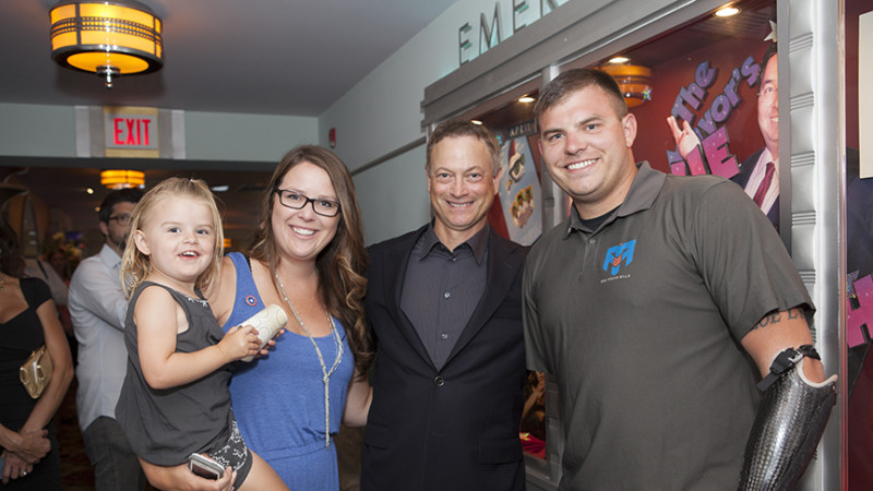 The Gary Sinise Foundation Sells Out Three Screens for Travis the Movie