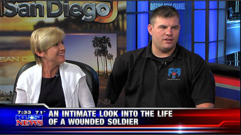 An Intimate Look into the Life of a Wounded Warrior