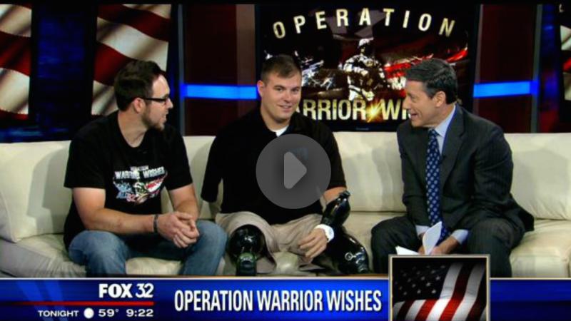 Operation Wounded Warriors: SSG Travis Mills, Matt Steichen