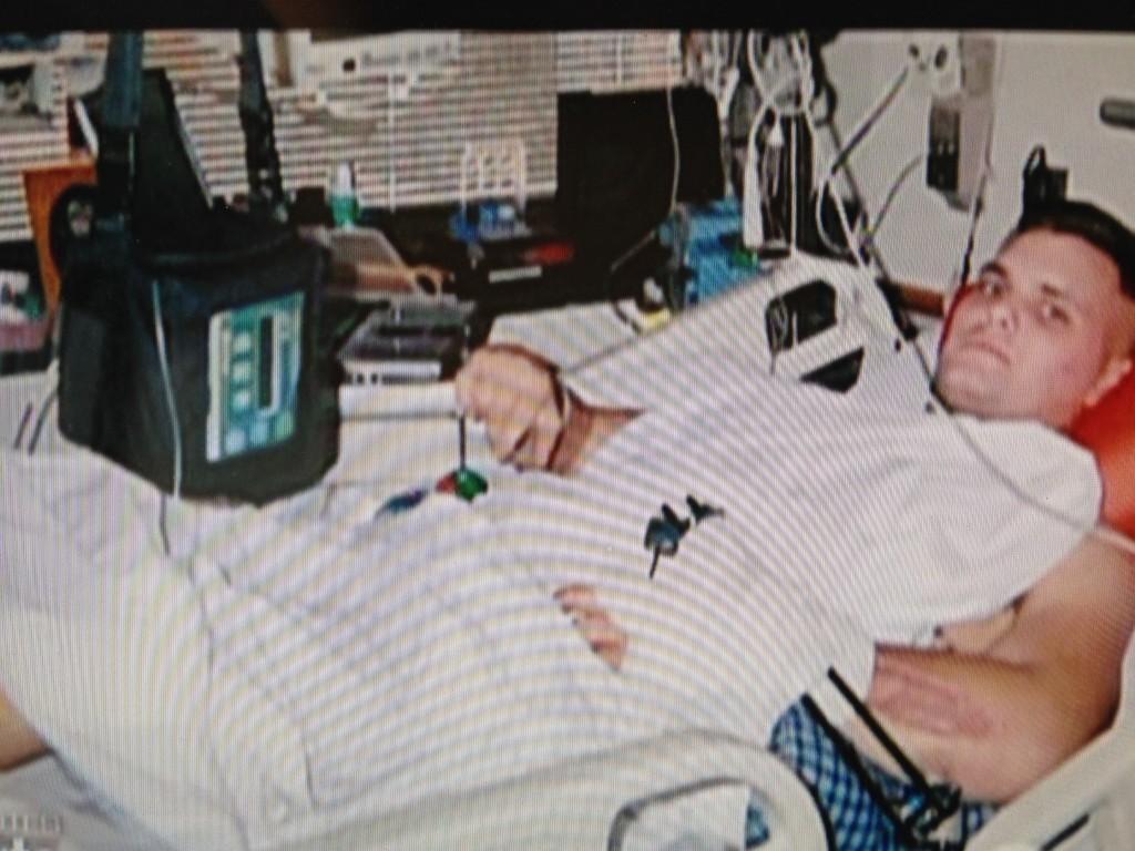 Schick in hospital
