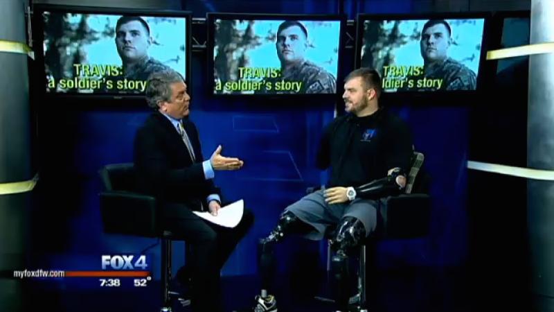 Good Day FOX4 Talks with SSG Travis Mills