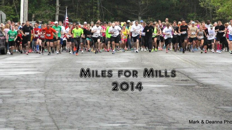 Support the Miles for Mills 5K in Augusta, Maine on Memorial Day!