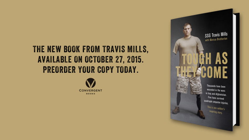 "Travis's Book ""Tough As They Come"" is now Available for Pre-order!"